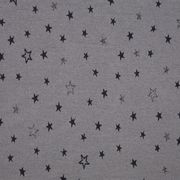 Mateo - Metallic, Cotton Jersey, Stars, grey